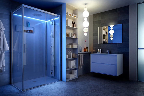 Box doccia la tecnologia nel tuo bagno portale alphabase - Bagno nel box auto ...